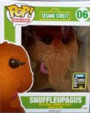 Sesame Street Flocked Snuffleupagus 2015 Comic Con Exclusive Pop! Vinyl Figure